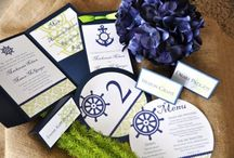 Navy and Green Wedding / Navy and green wedding inspiration board with some nautical elements sprinkled in. / by Wiregrass Weddings