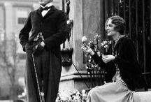 a silent movie