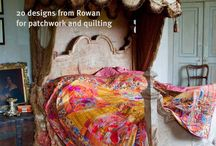 Kaffe Fassett's Quilt Grandeur / Recently released Quilt Grandeur, shot at Port Eliot in Cornwall featuring the latest Kaffe Fassett Collective fabrics and quilt designs.