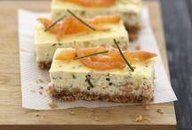 Cheese cakes salés et sucrés