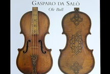 Beautifully Designed Stringed Instruments / Stringed instruments that have special designs, paintings, or carvings / by Fein Violins