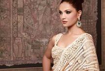 crochet sarees