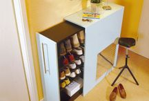 Woman dreams / shoes cabinet, wardrobe, laundry organisation, beauty corner, walk-in wardrobe