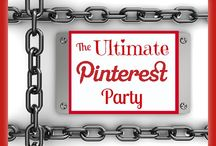 The Ultimate Pinterest Party / You can link up at The Ultimate Linky (http://theultimatelinky.com) every Friday (starting at 1 p.m. EST) to Saturday morning (ending at 9 a.m. EST).  Then come back Saturday morning to re-pin pins on this board.  This will help your pins stay higher in the Pinterest stream!  #ultimatepinterestparty / by Creative K Kids (Tammy) Doiel