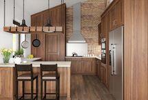 Bývanie / Kuchyne,kúplne obývacie izby