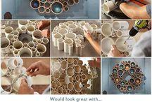 DIY Home Decor - Fai da te / Valsir - DIY Home Decor using pipes