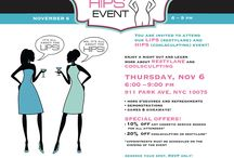 Lips & Hips! / Enjoy a night out and learn more about Restylane and CoolSculpting! Thursday, November 6th at 6 - 9pm! 911 Park Ave, NYC
