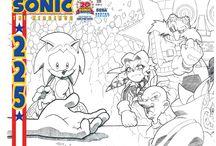 Sonic Comics / Sonic the Hedgehog, Sonic Universe, and all the other Sonic the Hedgehog comics produced by Archie Comics.