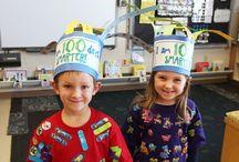 100th Day of School at Homer Brink