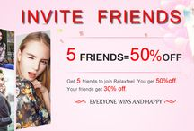 Inviet 5 friend get 50% off