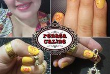 Nail Art / Minhas nail arts Não sou profissional, então...aprendam a dar desconto.
