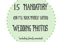 Wedding Photography {info for brides & grooms}