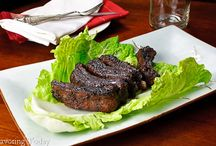 Pork Recipes / Pork recipes for appetizers, main dishes, holidays, or special occasions.