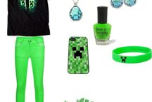 Minecraft clothes / by Bethany Reed