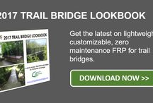 FRP Composite Resources / Want to learn more about FRP in trail bridges? Vehicle bridge decks? Waterfront infrastructure? You're in the right place.