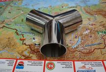3 Inch Y Shape Welding Pipe Stainless steel 304SS Gloss