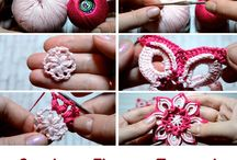 Best crochet flowers: Free Patterns / Flores en crochet: Patrones gratuitos