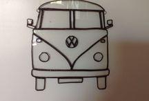 VW busjes en kevers / VW transit busses and VW Beetles