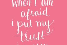 Faith / Psalms, faith, poems and quotes
