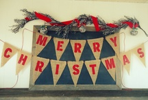 Holiday Party Ideas / Rustic holiday party themes