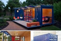 Shipping containers design / New design and architecture with containers.
