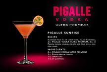 PIGALLE Cocktails  / Cocktail recipes