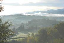 Tuscan Hills / The hills & mountains surrounding Il Gavillaccio