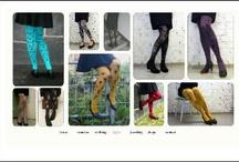 mary a. jalava - Miira Zukale / Käsinpainetut sukkahousut, vaatteet ja asusteet
