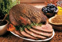 Peppered Hams (Products) / Ozark Hickory Smoked Peppered Petit Jean Hams