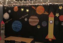Explorando el espacio