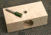 madera cuadrada hacer espiga redonda