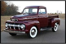 CARS and TRUCKS of the 50's / by bob spear