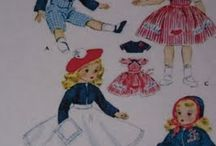 1950 s vintage dolls