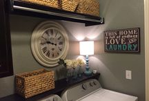 Apartment 1433- Laundry Room Idea