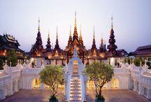 temples, Buddha, thailand, india