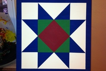 barn quilts / by Martha Ritchie-Tapp