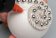 polystyrene balls craft