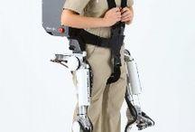 próteses e exoesqueletos mecânicos  suits e afins