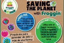Froggin Green Team / ¡Juntos podemos hacer un mundo mejor!