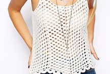 crochet blusas