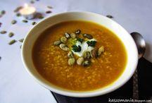 Menu zupy
