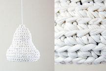 Chunky knitting and crocheting
