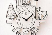 tick tock / i love clocks / by Amber Steele