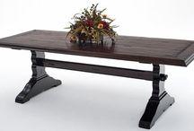rustic tables / by Flea Market Trixie
