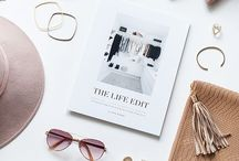 flat lay photographs / ideas for product shoots and blogger photographs