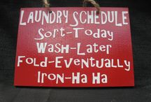 Cleaning: Laundry / by Shellie Person