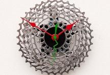 Recycled bike craft