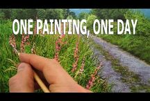 Painting one day