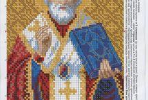 Православная вышивка: схемы / Схемы вышивки крестом на православную тематику