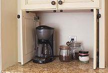 Idee per la cucina/ armadi